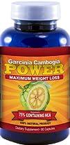 Garcinia Cambogia POWER | Super Strength 75% HCA!! | 2420mg/day formula | Maximum Weight Loss with…