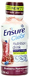 Ensure Clear Nutrition Beverage, Blue…