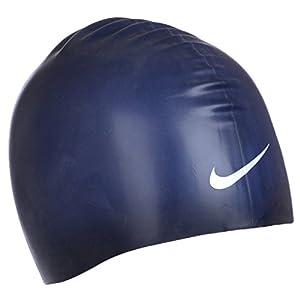Nike - Flache Badekappe - Silikon - Dunkelblau - Einheitsgröße