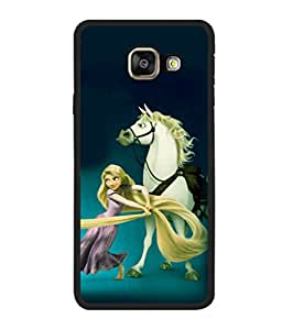printtech Disney Girls Back Case Cover for Samsung Galaxy A5 (2016) :: Samsung Galaxy A5 (2016) Duos with dual-SIM card slots