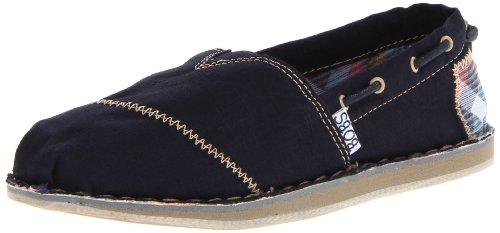 BOBS by Skechers Women's Chill Half Shoe Blue UK 2
