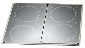 Wenko 2712663100 Protége-Plaque Vitroceram Universelle 2 Pièces