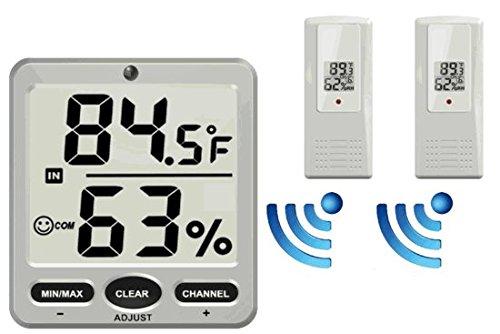 ambient-weather-ws-07-x2-big-digit-8-channel-wireless-thermo-hygrometer-with-two-remote-sensors