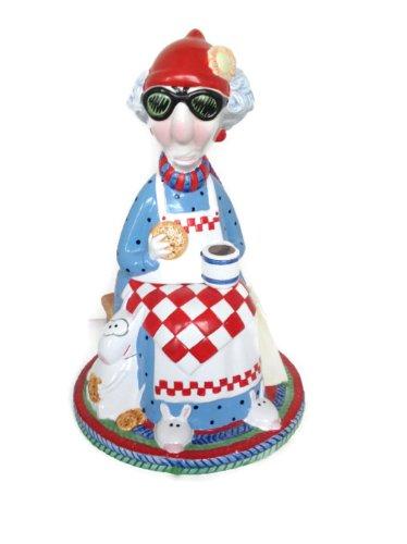 Vintage Ceramic Hallmark Maxine Cookie Jar