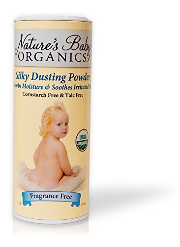 Nature's Baby Organics Silky Dusting Powder Fragrance Free - 4 Oz, 6 pack - 1