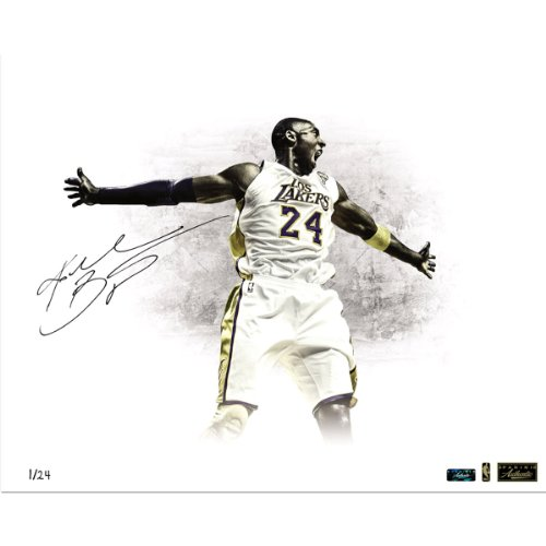 Kobe Bryant Signed 'Los Lakers' 16X20 Photo (Le/24) ( Panini Auth)