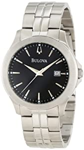 Bulova Men's 96X121 Bracelet and Boxed Set Watch