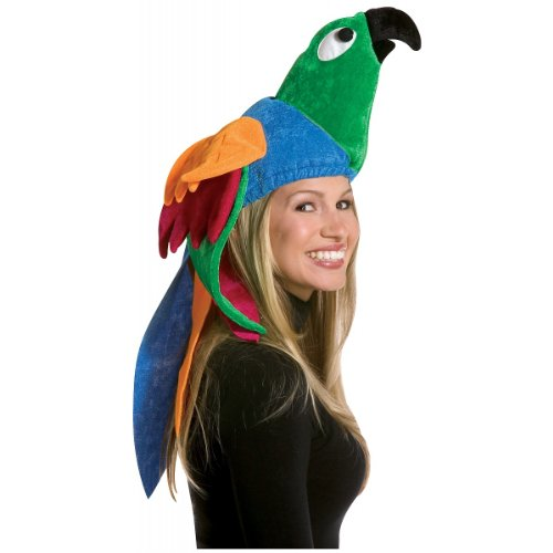 [Rasta Imposta Parrot Hat, Multi, One Size] (Deluxe Parrot Costumes)
