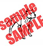 PITBULL DOG ANIMAL VINYL DECAL STICKER
