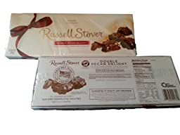 Russell Stover Double Pecan Delight 9 ounce box (pack of 2)