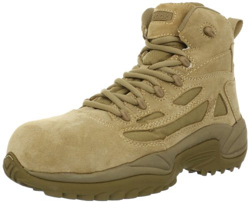 Reebok Men's Rapid Response RB8694 Safety Boot,Tan,9 M US