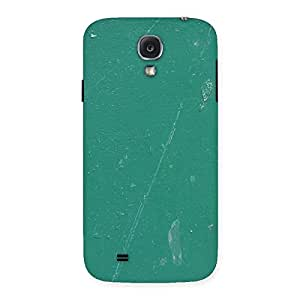 Green Paint Crack Print Back Case Cover for Samsung Galaxy S4