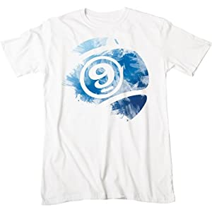 Sector 9 Barely Men's Short-Sleeve Casual T-Shirt/Tee - White / X-Large