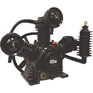 NorthStar Air Compressor Pump 2-Stage, 3-Cylinder, 14.9