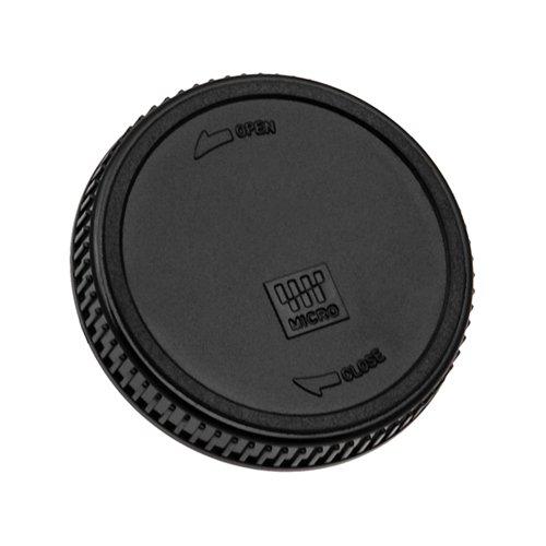Fotodiox Rear Lens Cap for MFT Micro 4/3 Four Third Lens, fits Olympus Pen E-PL1, E-P2, E-P1, E-PL2, Panasonic Lumix DMC-G1, G2, GH2, GF1, GH1 G10
