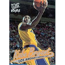 Kobe Bryant 1996 / 1997 Ultra Mint Rookie Card #52 Shipped in Protective Screw Down Holder!
