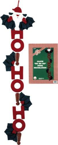 Rubies Costume Ho Ho Ho Cloth Banner - 1