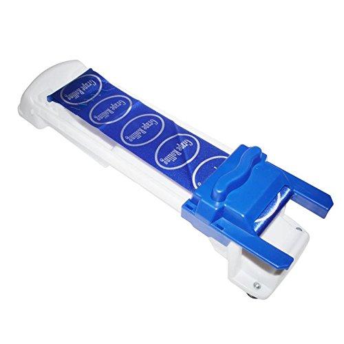 LifeJoy vigne farcies et du chou de Rolling machine importšŠe en plastique PP farcies enroulement des feuilles outil, Bleu