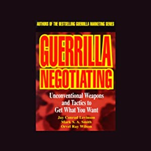 Guerrilla Negotiating Audiobook