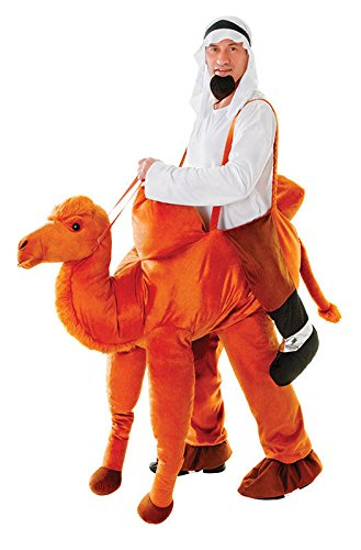 Men's Ride-A-Camel Adult Costume, Multi,
