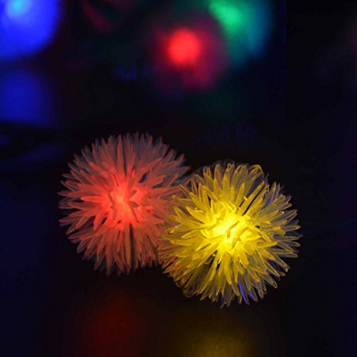 lederTEK Solar Outdoor String Fairy Lights 15ft