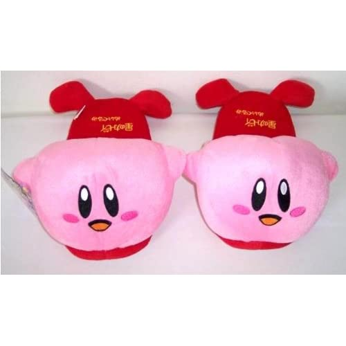 Amazon.com : Kirby Plush Slippers one pair : Other Products