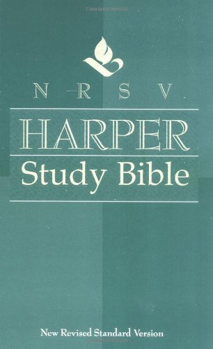 Nrsv Harper Study Bible back-929980