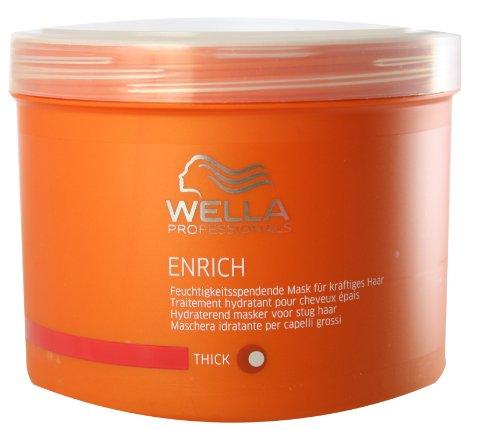 Wella Professionalss Enrich unisex, Feuchtigkeitsspendende Mask für kräftiges Haar 500 ml, 1er Pack (1 x 1 Stück)