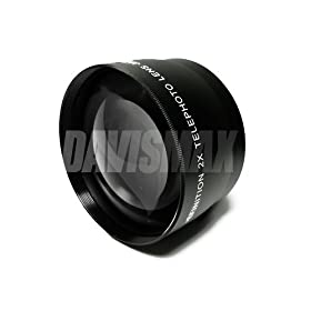 49mm DM Optics 0.45X Wide Angle Lens Lens Caps Lens Bag For The Sony A230 A290 A350 A380 A390 A700 A850 A900 SLTA33 SLTA55V SLR Cameras SLR Cameras Which Have Any Of These Macro Includes 16mm, 18-55mm, 28mm, 30mm, 50mm Sony Lenses