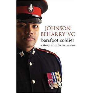 Barefoot Soldier - Johnson Beharry,Nick Cook