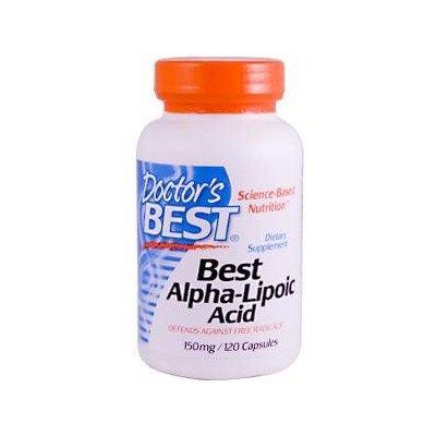 ドクターズベスト Best ベスト アルファリポ酸 150mg 120カプセル