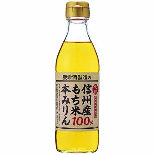家醸 養命酒製造の信州産もち米100% 本みりん 270ml