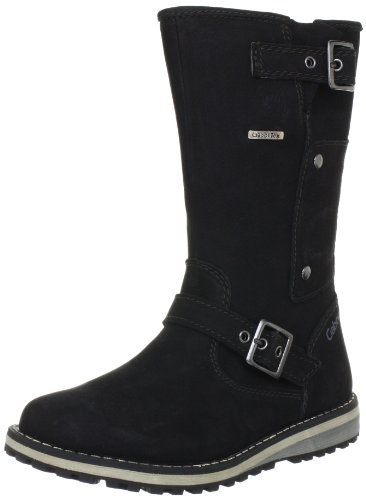Gabor kids Mima Boots Unisex-Child Black Schwarz (black) Size: 30