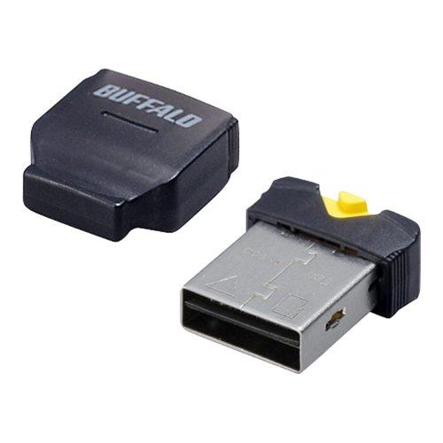iBUFFALO カードリーダー/ライター microSD対応 超コンパクト ブラック 【PlayStation4,PS4 動作確認済】BSCRMSDCBK
