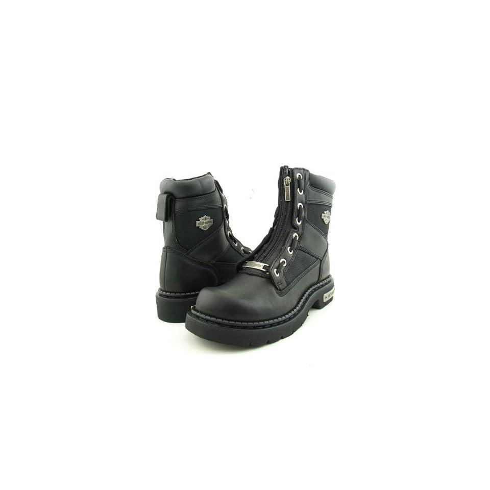 HARLEY DAVIDSON 94178 Canyon Black Boots Shoes Mens 10