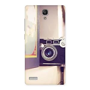 Ajay Enterprises Fill Pastel Camera Back Case Cover for Redmi Note