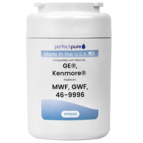 USA MADE GE MWF Replacement Filter. Also replaces GE GWF, GE MWFA, Kenmore 9991, GE HWF Refrigerator Water Filters. Guaranteed Fit and Function! (Hwf Filter compare prices)