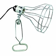 Woods Ind. 550324 Do it Clamp Lamp With Wire Guard-WIRE GUARD/CLAMP LAMP