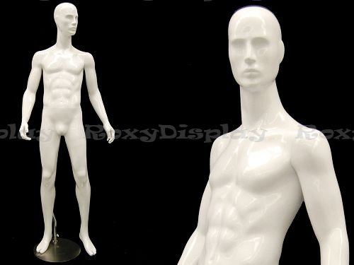 (Mz-Joe2) Abstract Male Mannequin, Standing Pose.