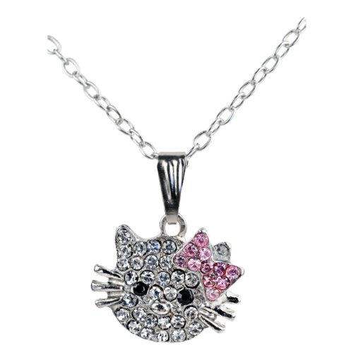 Silver Crystal Pendant Necklaces for Little Girls – Cute Necklaces for Girls Are Popular and ...