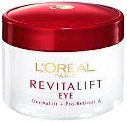 LOreal Paris Dermo Expertise Revitalift Eye Night Cream, 15ml