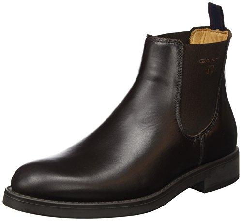 GANTOscar - Stivali bassi con imbottitura leggera Uomo , Marrone (Braun (Dark brown G46)), 44