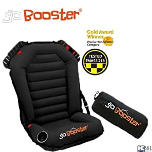 Go Booster Inflatable Amp Portable Car Booster Seat For