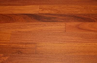 "Kingsport Brazilian Teak Natural 3/4"" x 3-3/4"" Exotic Solid Hardwood Flooring NH119 SAMPLE"