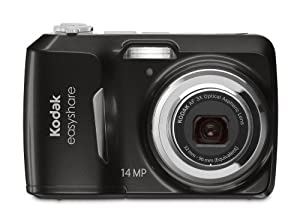 Kodak EasyShare C1530 14 MP Digital Camera with 3x Optical Zoom and 3.0-Inch LCD (Black)