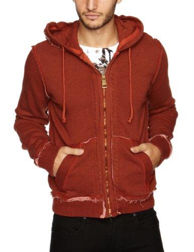 Rich&Royal 23K221 Men's Sweatshirt Spicy Rust Large