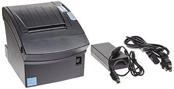 "Bixolon SRP-350II Monochrome Desktop Direct Thermal Receipt Printer with Serial Interface, 7.87 in/s Print Speed, 180 dpi Print Resolution, 3"" Print Width, 24 VDC, Black"
