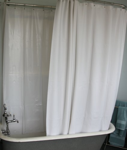 Clawfoot Tub Liners Or Water Proof Curtains At Amozon