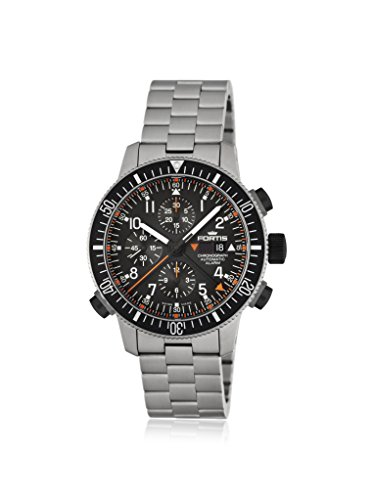 Fortis Mens 660.27.11 M B-42 Official Cosmonauts Black Titanium Watch