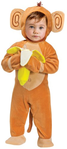 Fun World Going Bananas Monkey Baby Costume